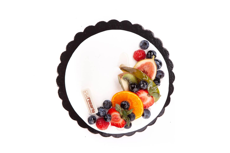 Tort Firmowy z Dekoracją Owocową