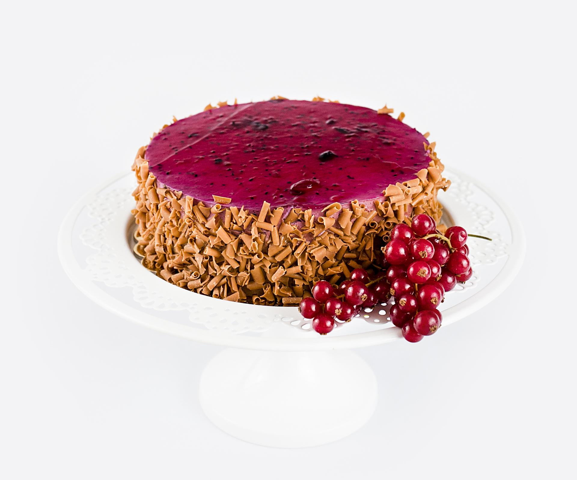 Tort Czarna Porzeczka