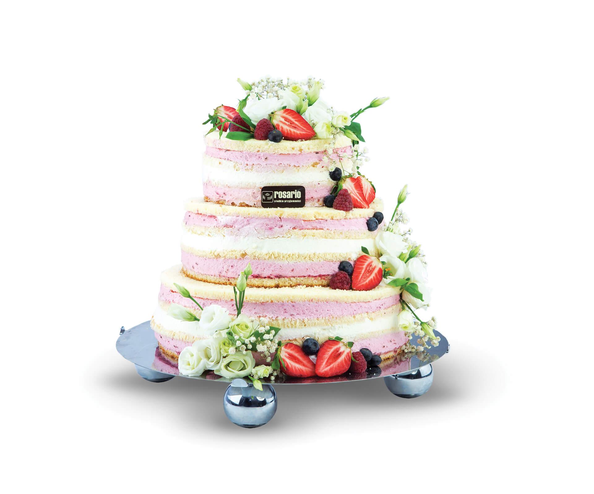 Tort weselny 5